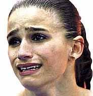 jade chorando